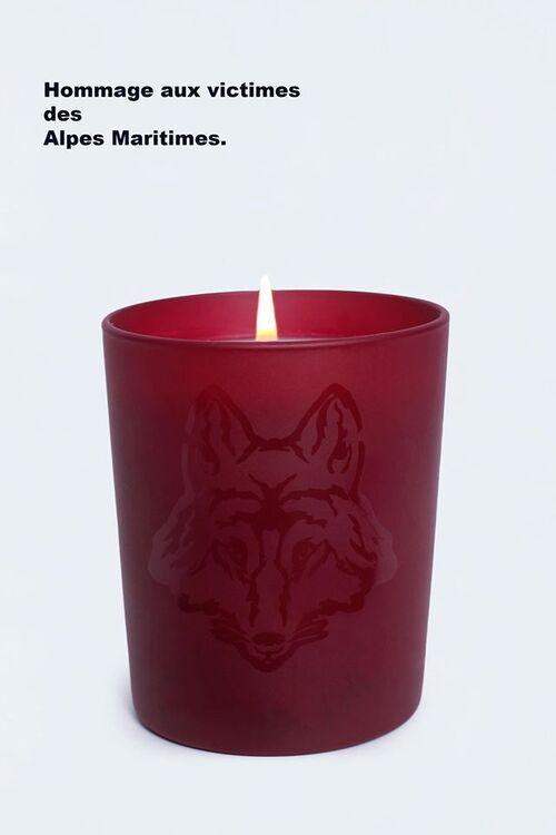 Hommage aux victimes des Alpes Maritimes.