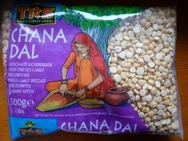Pilaf aux pois chiches concassés (Chana ki khubooli)