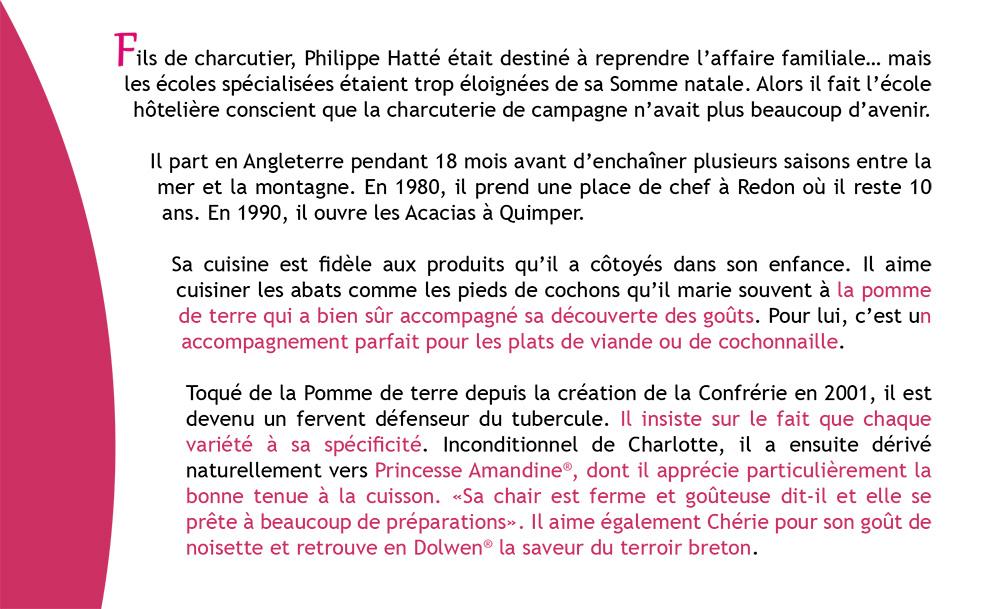 Portrait de Toqué : Philippe HATTE