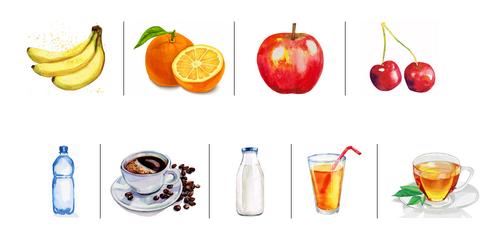 Food -  Apprendre le vocabulaire de la nourriture