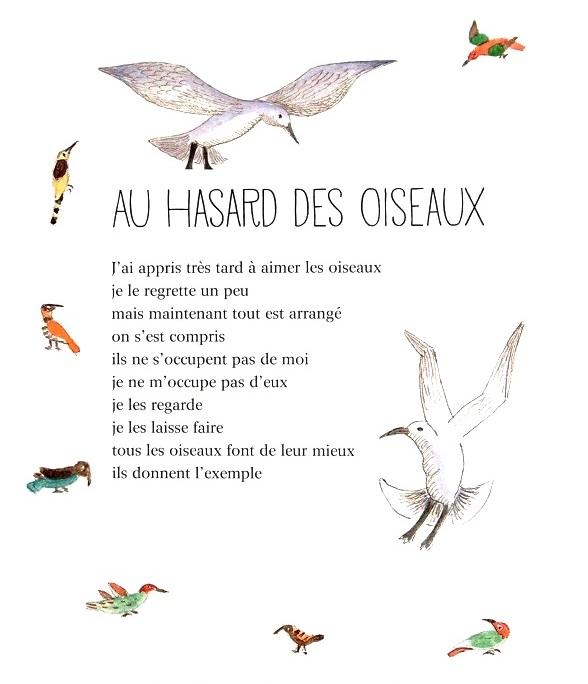 Jacques Prévert Au Hasard Des Oiseaux Et Autres Poèmes