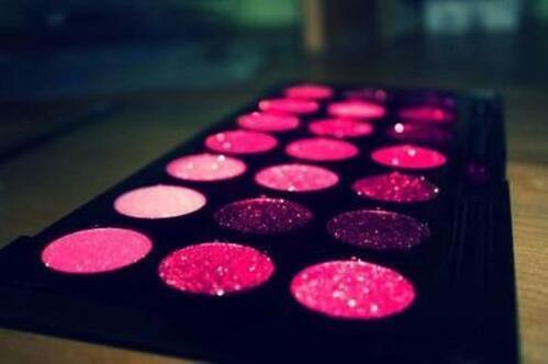 pink, makeup