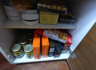 Une invasion de mites alimentaires dans ma cuisine.