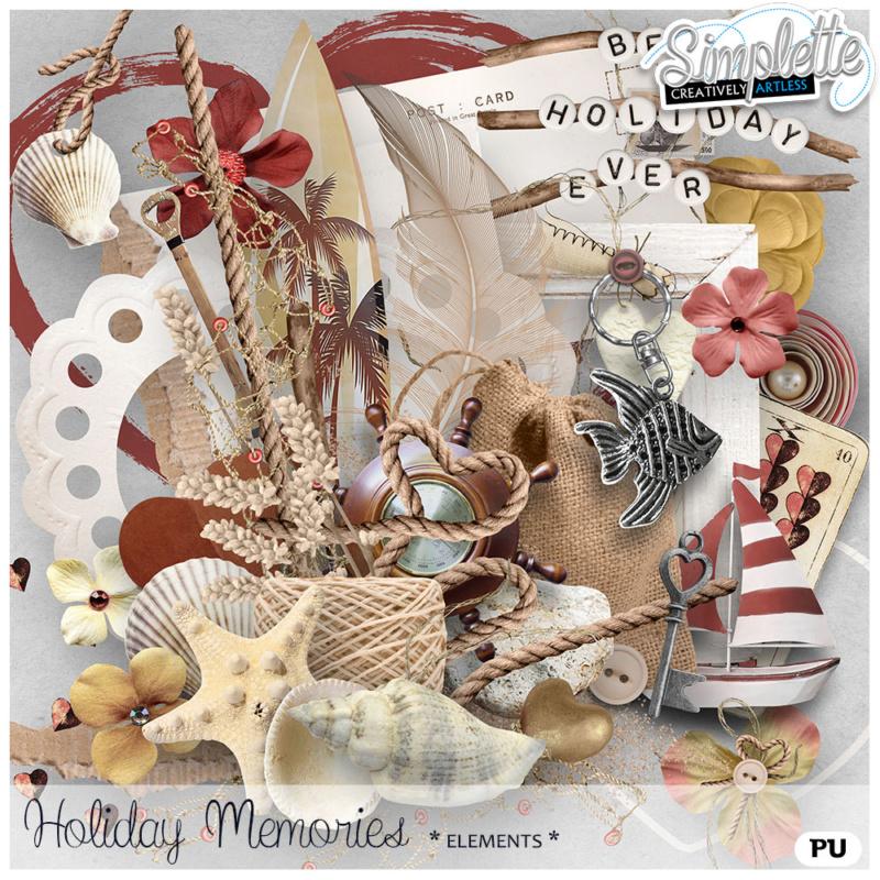 31 août : Holiday Memories Simpl451