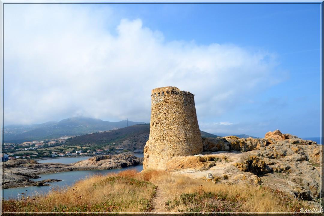Tour génoise d'Île-Rousse - Corse - 26 juillet 2014