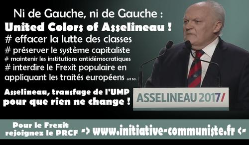 United Colors of Asselineau ? Stop à la confusion !  (IC.fr-28/03/2017)