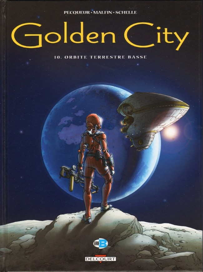 Couverture de Golden City -10- Orbite terrestre basse