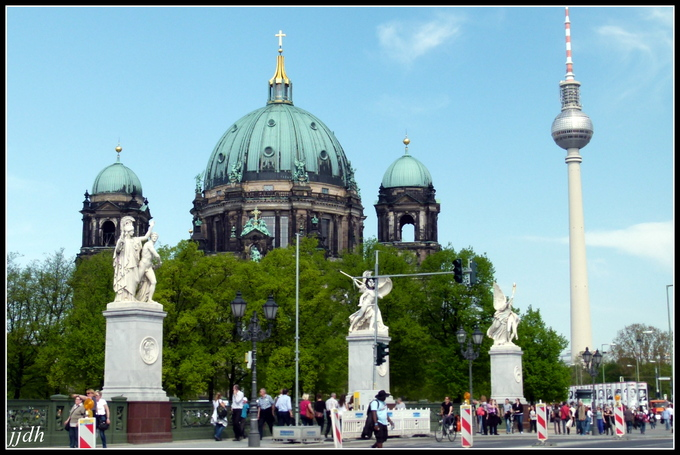 La Cathédrale de Berlin - Allemagne (1).