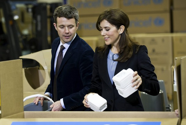 Frederik, Mary et l'Unicef