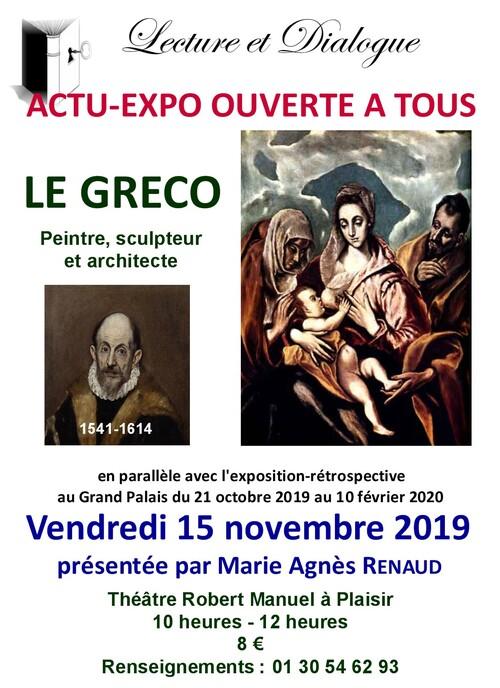 Les Actu-expos 2019-2020