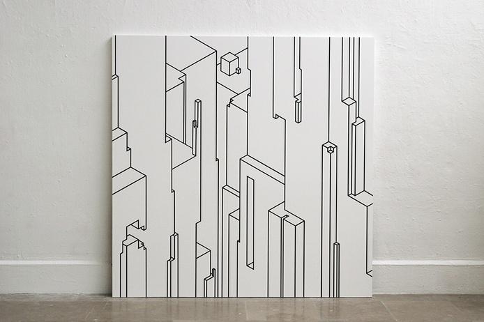 gorges, canyon, dessin, vertige, verticalité, immersion