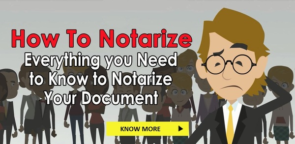 Why Do You Need To Notarize Documents?