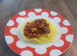 Spaghettis bolo Paléo