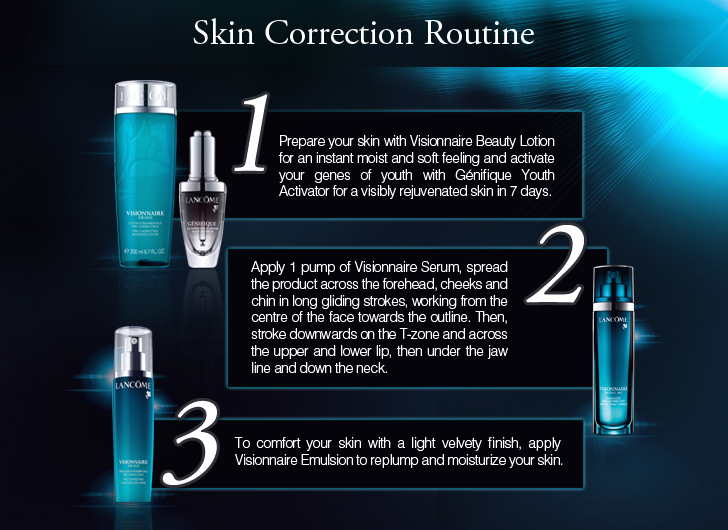 lancome visionnaire yeux eye on correction how to use