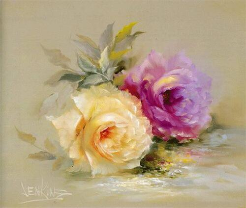 Belles Roses Multicolores