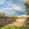 Muret de séparation sur le chemin de Carabiol à Saint Julia
