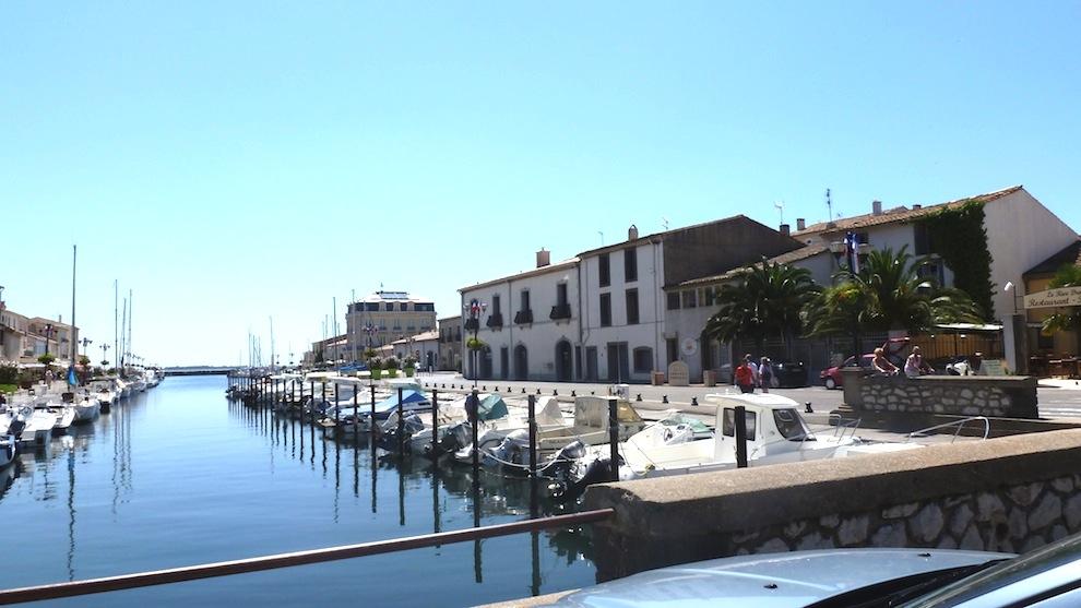 Le petit port de Marseillan  (Hérault)