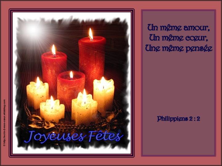Joyeuses Fêtes - Phil 2 : 2