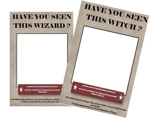 Les portraits de sorciers/sorcières