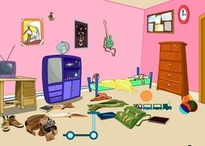 Jouer à Messy room escape