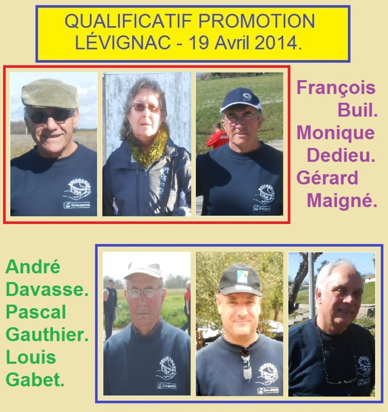 QUALIFICATIF TRIPLETTE PROMOTION