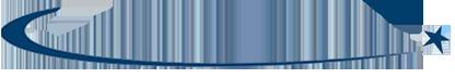 Trait de séparation entre les textes Courbe logo