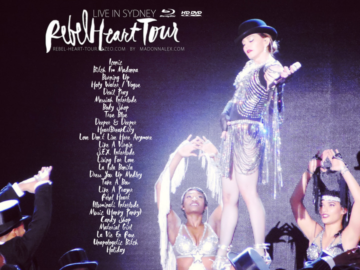The Rebel Heart Tour DVD to be released this summer
