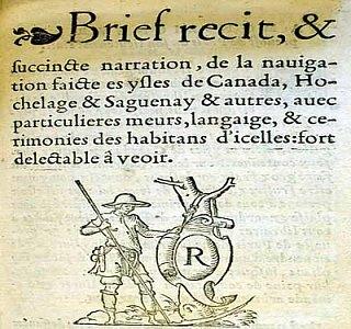 Brief récit, de Jacques Cartier
