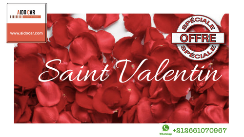 Promotion Saint Valentin – Location Fiat 500 à Casablanca