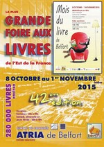 FOIRE AUX LIVRES - BELFORT