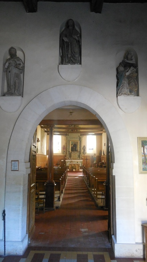 Villiers-Saint-Benoît, Eglise Saint-Benoît