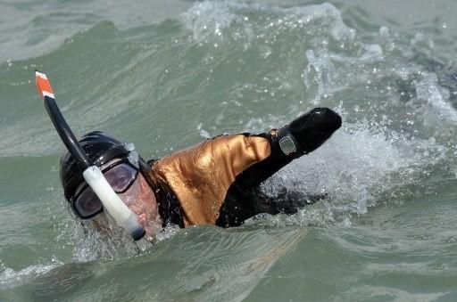 Croizon avait déjà réussi l'exploit de traverser la Manche ...