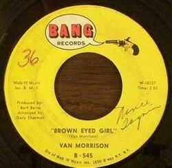Van Morrison : Brown Eyed Girl (1967)