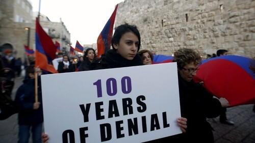 Pourquoi Israël refuse toujours de reconnaître le génocide arménien