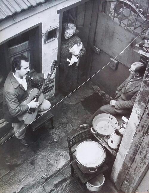 1953 GEORGES BRASSENS a PARIS