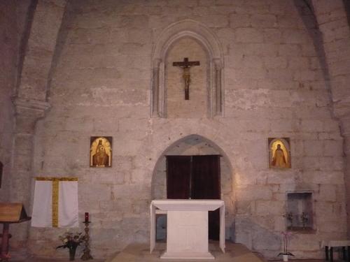 La crypte Saint Amadour...