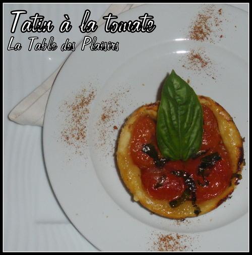 Tartelette TATIN TOMATE