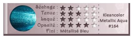 Kleancolor - Metallic Aqua