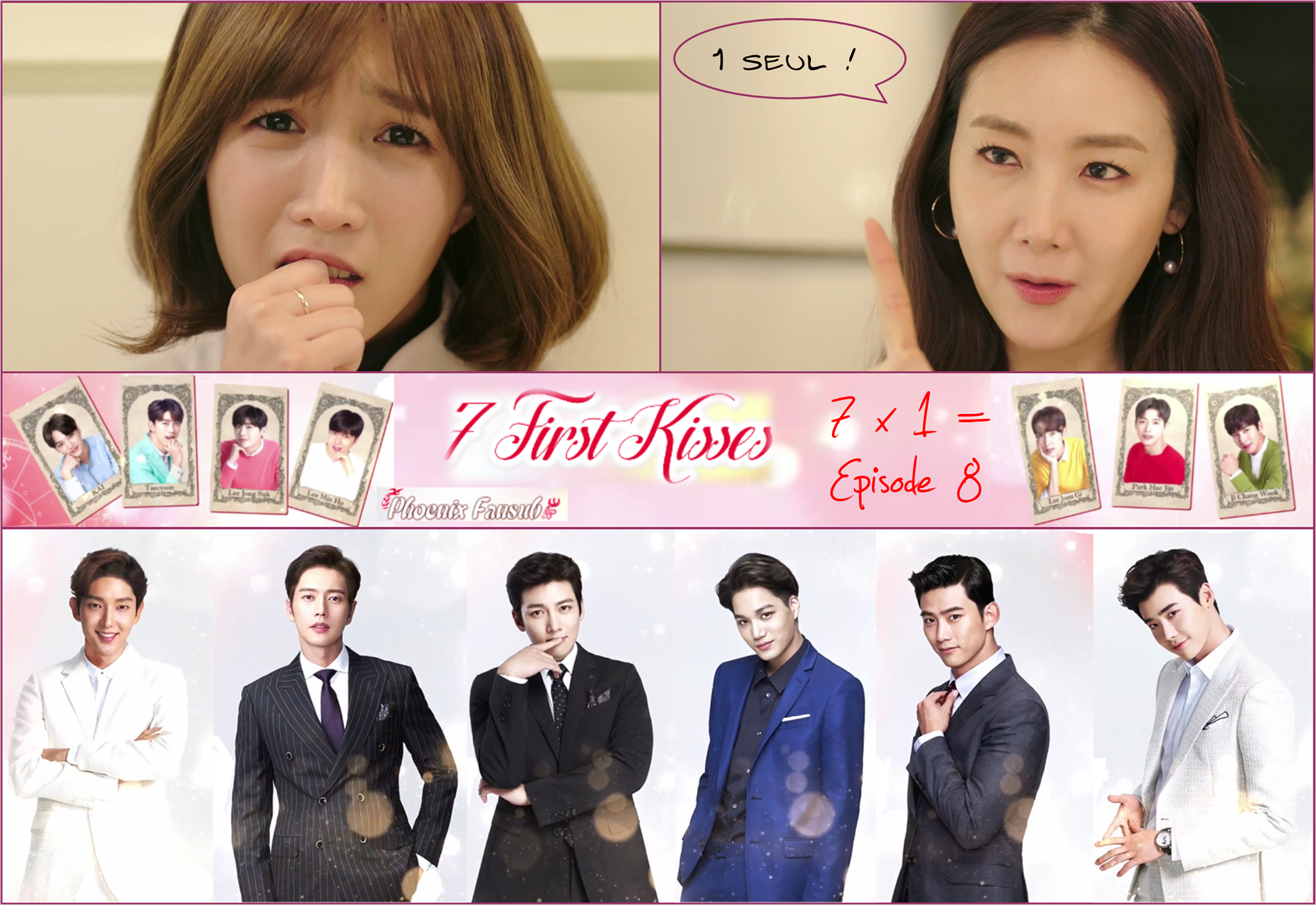 Seven First Kisses / First Kiss For The Seventh Time - Épisode 08 - VOSTFR