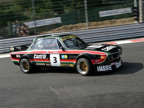 """BMW CSL 3.0 Litres """"Solido"""" 1/43ème."""
