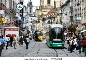 stock-photo-linz-austria-august-pedestrians-on-landstrasse-the-main-street-of-linz-on-august-1737456