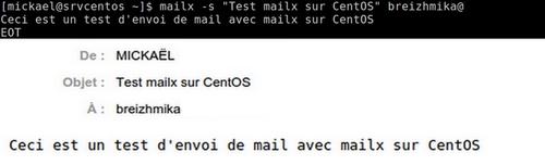 Envoyer des mails en ligne de commandes avec mailx