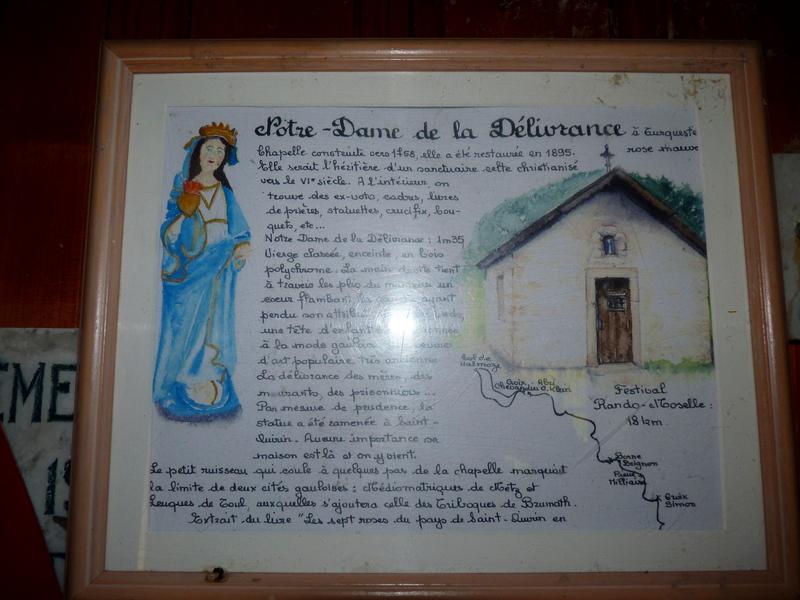 La Chapelle de la Rose Mauve(Notre Dame De La Délivrance)