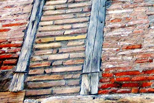 Une façade de maison ancienne