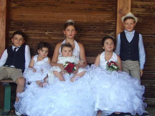 Mariage de ma petite fille ainée