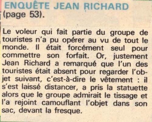 enquête de Jean Richard n ° 52