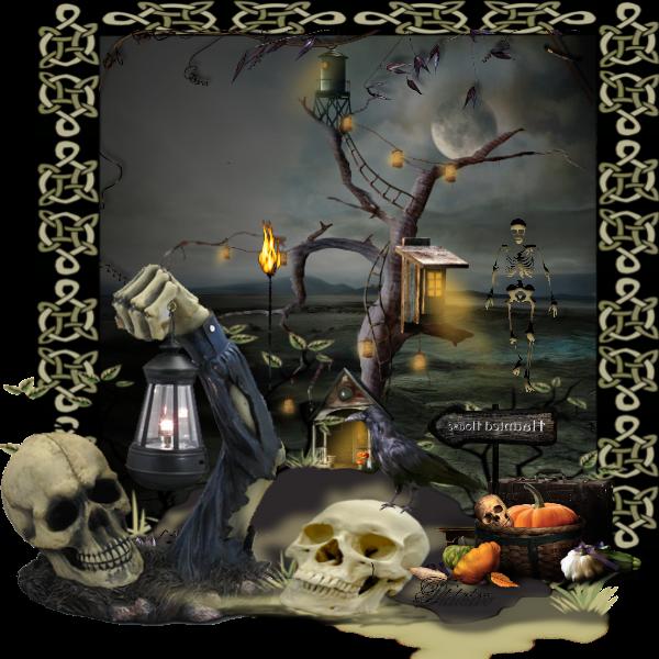 Défi Halloween octobre 2015