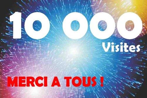 10000 ème Visiteurs