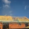 pose des corniches de toit & voliges 002