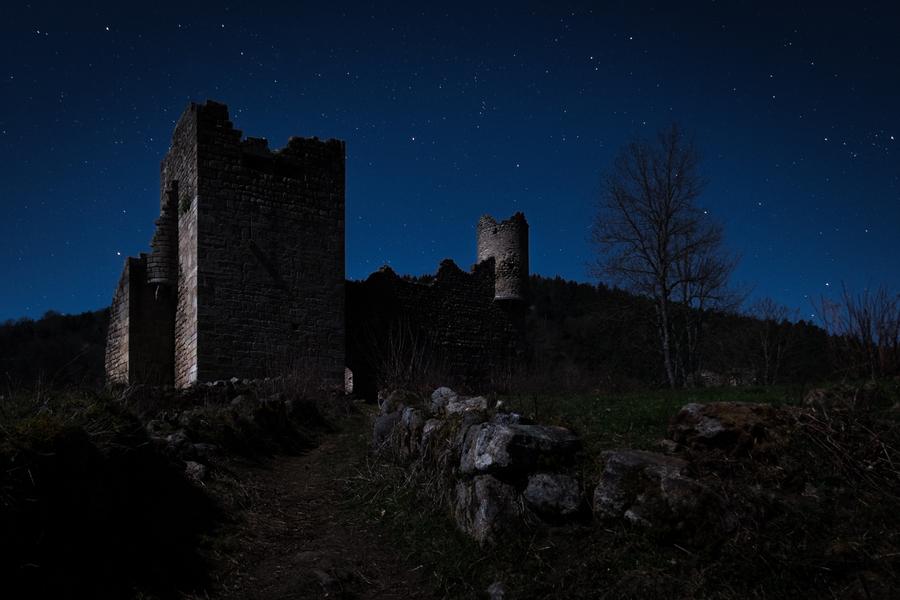 Ruines de la nuit